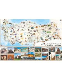 Türkiye Turizm Haritası (70x100) - Mepmedya Yayınları