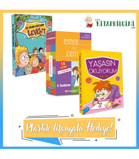 Kitapbilgini 1. Sınıf Kampanyalı İlk Okuma Kitapları Seti (30 Kitap)