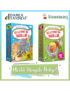 Damla Yayınları Kelile ve Dimne'den Masallar Kampanyalı Set (20 Kitap)