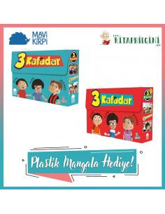 Mavi Kirpi Yayınları 3 Kafadar Serisi Kampanyalı Set (10 Kitap)