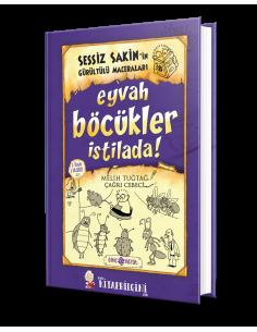 Genç Hayat Yayınları Sessiz Sakin'in Gürültülü Maceraları 8 - Eyvah Böcükler İstilada