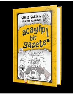 Genç Hayat Yayınları Sessiz Sakin'in Gürültülü Maceraları 3 - Acayip Bir Gazete!