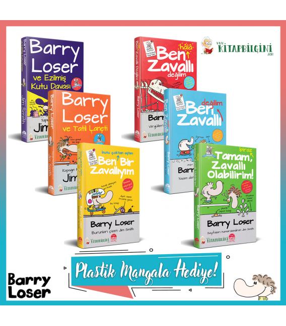 Martı Yayınları Barry Loser Serisi Kampanyalı Tam Set (6 Kitap)