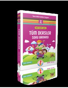 Işıklı Yayınları İlkokul 2.Sınıf Adım Adım Tüm Dersler Soru Bankası