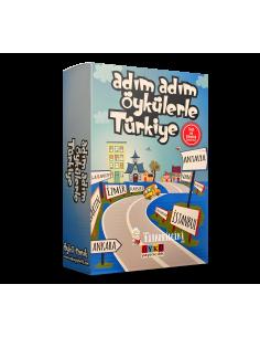 Öykü Yayıncılık Adım Adım Öykülerle Türkiye (10 Kitap)