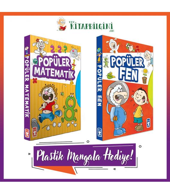 Timaş Popüler Matematik – Fen Dizisi Kampanyalı Set (8 Kitap)