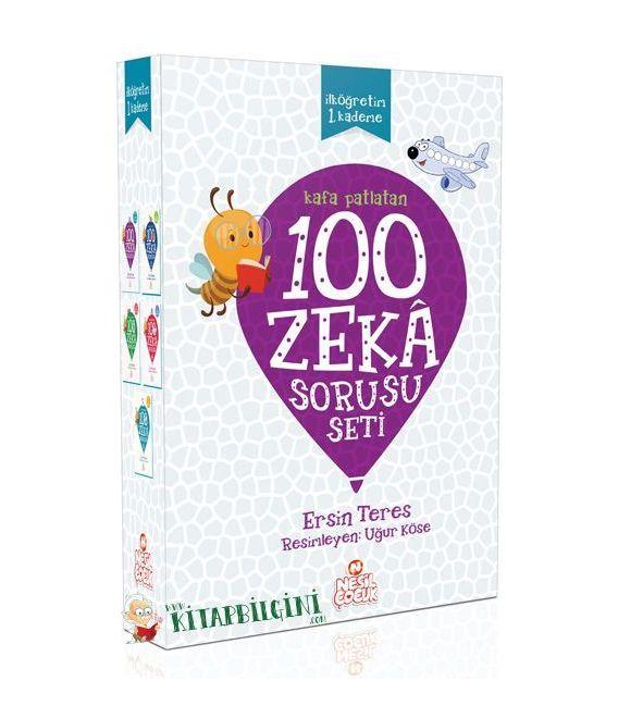 Nesil 100 Akıl Oyunu – 100 Zeka Sorusu Kampanyalı Set (10 Kitap)