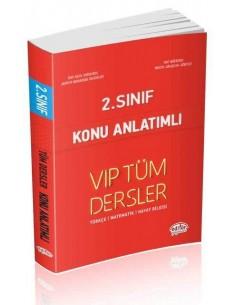 Editör 2. Sınıf VIP Tüm Dersler Konu Anlatımlı Kırmızı Kitap