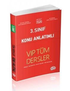 Editör 3. Sınıf VIP Tüm Dersler Konu Anlatımlı Kırmızı Kitap