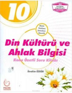 Palme Yayınları 10.Sınıf Din Kültürü Konu Özetli Soru Kitabı