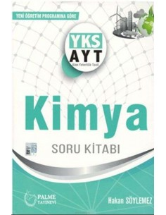 Palme Yayınları YKS AYT Kimya Soru Kitabı