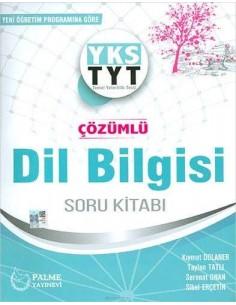 Palme Yayınları YKS TYT Çözümlü Dilbilgisi Soru Kitabı