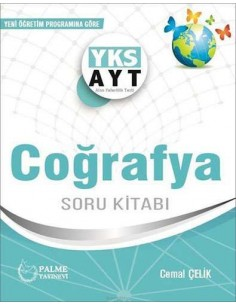 Palme Yayınları YKS AYT Coğrafya Soru Kitabı