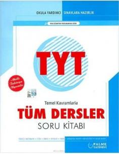Palme Yayınları YKS TYT Tüm Dersler Soru Kitabı
