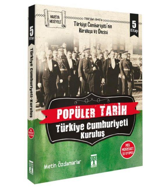 Timaş Popüler Tarih: Türkiye Cumhuriyeti Kuruluş Seti (5 Kitap)