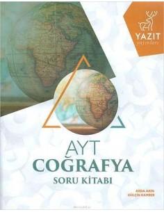 Yazıt Yayınları YKS AYT Coğrafya Soru Kitabı