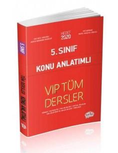 Editör 5. Sınıf VIP Tüm Dersler Konu Anlatımı Kırmızı Kitap