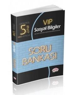 Editör Yayınları 5.Sınıf VIP Sosyal Bilgiler Soru Bankası