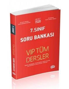 Editör 7. Sınıf VIP Tüm Dersler Soru Bankası Kırmızı Kitap