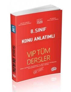 Editör 8. Sınıf VIP Tüm Dersler Konu Anlatımlı Kırmızı Kitap