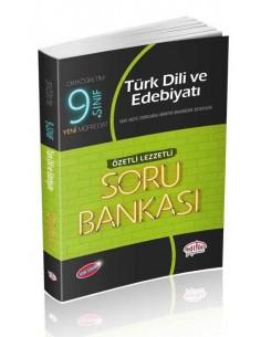 Editör 9. Sınıf VIP Türk Dili ve Edebiyatı (Özetli Lezzetli) Soru Bankası