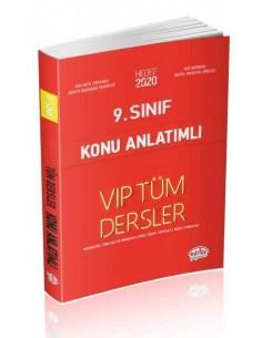 Editör 9. Sınıf VIP Tüm Dersler Konu Anlatımlı Kırmızı Kitap