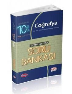Editör 10. Sınıf VIP Coğrafya (Özetli Lezzetli) Soru Bankası