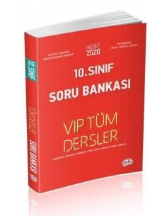 Editör 10. Sınıf VIP Tüm Dersler Soru Bankası Kırmızı Kitap