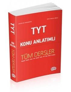 Editör Yayınları TYT Tüm Dersler Konu Anlatımlı Kırmızı Kitap