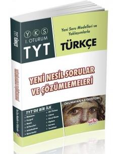 Editör Yayınları TYT Türkçe Yeni Nesil Sorular ve Çözümleri