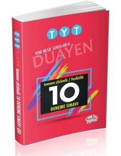 Editör Yayınları TYT Duayen Tamamı Çözümlü 10 Fasikül Deneme Sınavı