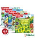 Dikkat Atölyesi Sticker Eğlenceli Etkinliklerle Hikayeli Bulmaca 5'li Set
