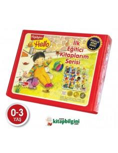 Dikkat Atölyesi Yayınları Hello Ilk Eğitici Kitaplarım Serisi 12 Kitap