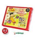 Dikkat Atölyesi Yayınları Hello İlk Eğitici Kitaplarım Serisi 12 Kitap