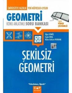 Çap Yayınları Şekilsiz Geometri Konu Anlatımlı Soru Bankası