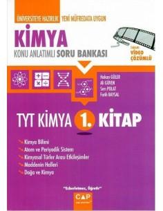 Çap Yayınları TYT Kimya 1. Kitap Konu Anlatımlı Soru Bankası