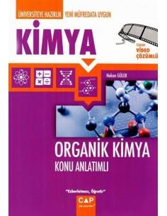Çap Yayınları Organik Kimya Konu Anlatımlı