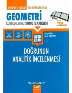 Çap Yayınları Geometri Doğrunun Analitik İncelenmesi