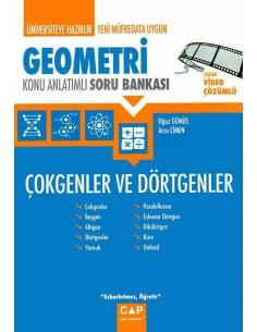 Çap Yayınları Geometri Çokgenler ve Dörtgenler