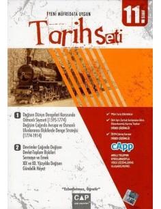 Çap Yayınları 11. Sınıf Tarih Seti