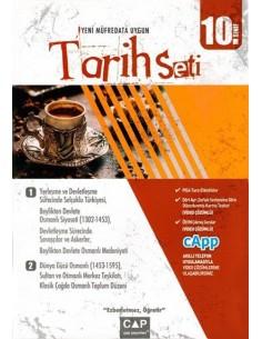Çap Yayınları 10. Sınıf Tarih Seti