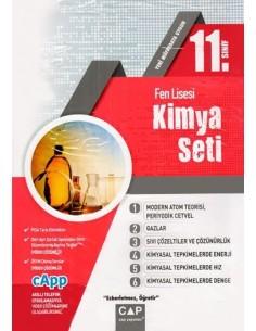 Çap Yayınları 11. Sınıf Fen Lisesi Kimya Seti