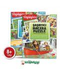 Dikkat Atölyesi Highlights Şaşırtıcı Macera Puzzle 2'li Set
