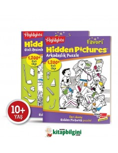 Dikkat Atölyesi Highlights Favori Hidden Pictures 2'li Set