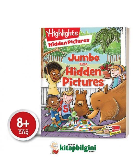 Dikkat Atölyesi Highlights Jumbo Kitap Hidden Pictures Dikkat Geliştirme Serisi