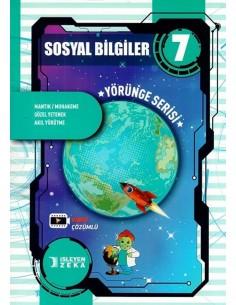 İşleyen Zeka 7. Sınıf Sosyal Bilgiler Yörünge Serisi Soru Bankası