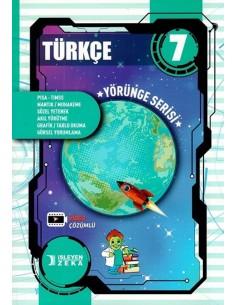 İşleyen Zeka 7. Sınıf Türkçe Yörünge Serisi Soru Bankası