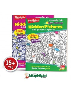 Dikkat Atölyesi Highlights Uzmanlar lçin Hidden Pictures (Gizli Resimler) 2'li Set