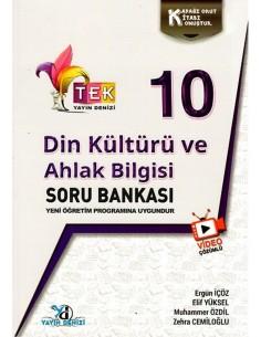 Yayın Denizi 10. Sınıf TEK Serisi Çözümlü Din Kültürü Soru Bankası