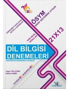 Yayın Denizi TEK Serisi Dil Bilgisi Denemeleri 21x13